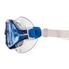 Очки-полумаска для плавания MadWave Sigyt II серые (M046301_GR-WHT) - Фото №5