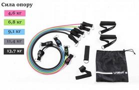 Набор эспандеров для фитнеса LiveUp Expander Tube Set, 5 шт (LS3625)