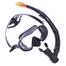 Набор для плавания ZLT M105-SN132-SIL (маска + трубка) - черный