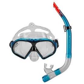 Набор для плавания (маска и трубка) Dolvor (М9510Р+SN52Р)
