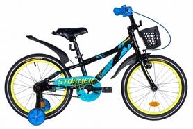 """Велосипед детский Formula Stormer 2021 - 16"""", рама - 8,5'' синий (OPS-FRK-16-159)"""