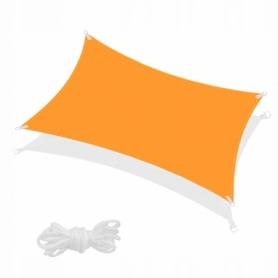 Тент-парус теневой Springos Orange, 4x2 м (SN1039)