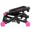 Степпер поворотный (мини-степпер) с эспандерами SportVida розовый (SV-HK0360) - Фото №8