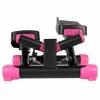 Степпер поворотный (мини-степпер) с эспандерами SportVida розовый (SV-HK0360) - Фото №9