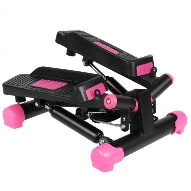 Степпер поворотный (мини-степпер) SportVida розовый (SV-HK0358)