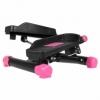 Степпер поворотный (мини-степпер) SportVida розовый (SV-HK0358) - Фото №3