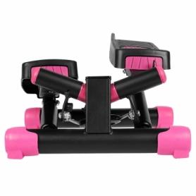 Степпер поворотный (мини-степпер) SportVida розовый (SV-HK0358) - Фото №5