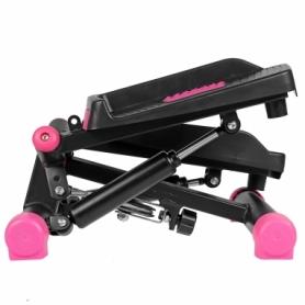 Степпер поворотный (мини-степпер) SportVida розовый (SV-HK0358) - Фото №6