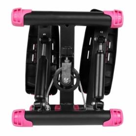 Степпер поворотный (мини-степпер) SportVida розовый (SV-HK0358) - Фото №7