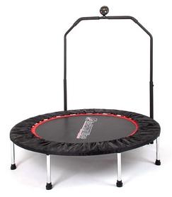 Батут для фитнеса с поручнем Insportline Profi Digital, 100 см (7198)