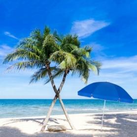 Зонт пляжный (садовый) усиленный Springos, 240 см (BU0003) - Фото №4