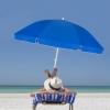Зонт пляжный (садовый) усиленный Springos, 240 см (BU0003) - Фото №7