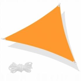 Тент-парус теневой Springos Orange, 7x5x5 м (SN1012)