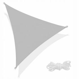 Тент-парус теневой Springos Grey, 3x3x3 м (SN1043)