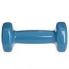 Гантель для фитнеса виниловая Zelart голубой, 1 кг (TA-2777-1_CYAN) - Фото №3