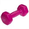 Гантель для фитнеса виниловая Zelart розовая, 1,5 кг (TA-2777-1_5_PNK)