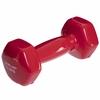 Гантель для фитнеса виниловая Zelart красная, 1,5 кг (TA-2777-1_5_RED)