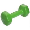 Гантель для фитнеса виниловая Zelart салатовая, 3 кг (TA-2777-3_GRN)