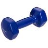 Гантель для фитнеса виниловая Zelart синяя, 3 кг (TA-2777-3_BL)