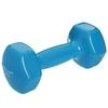 Гантель для фитнеса виниловая Zelart голубая, 4 кг (TA-2777-4_CYAN)