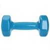 Гантель для фитнеса виниловая Zelart голубая, 4 кг (TA-2777-4_CYAN) - Фото №2