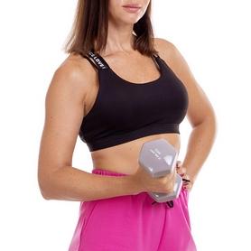 Гантель для фитнеса виниловая Zelart серая, 4 кг (TA-2777-4_GR) - Фото №5