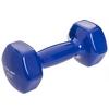 Гантель для фитнеса виниловая Zelart синяя, 4 кг (TA-2777-4_BL)