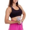 Гантель для фитнеса виниловая Zelart синяя, 4 кг (TA-2777-4_BL) - Фото №4