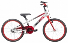 "Велосипед детский Apollo NEO boys 20"" Brushed Alloy / Red / Black Fade (SKD-07-75)"