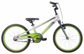 """Велосипед детский Apollo NEO boys 20"""" Brushed Alloy / Slate / Lime Green Fade (SKD-51-30)"""