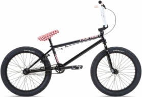 """Велосипед BMX Stolen STEREO 20.75"""" 2021 BLACK W/ FAST TIMES RED (SKD-69-85)"""