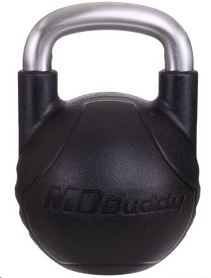 Гиря с полиуретановым покрытием Modern Buddy MD2220-10, 10 кг (TA-2681-10) - Фото №2