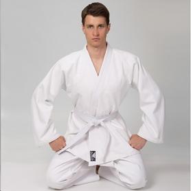 Кимоно для дзюдо Bad Boy белое (VL-8192)