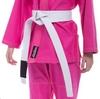 Кимоно для джиу-джитсу женское Hard Touch розовое (JJSL) - Фото №4