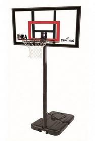 """Стойка баскетбольная портативная Spalding Highlight Acrilic Portable 42"""" (77799CN)"""