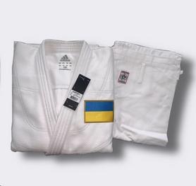 Кимоно для дзюдо Adidas Judo Uniform Champion 2 Olympic белое