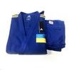 Кимоно для дзюдо Adidas Champion 2 IJF синее с желтыми полосами